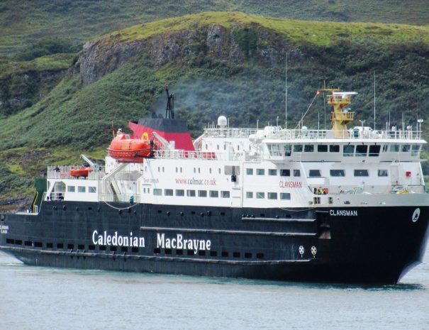 Caledonian MacBrayne ferry from Mallaig